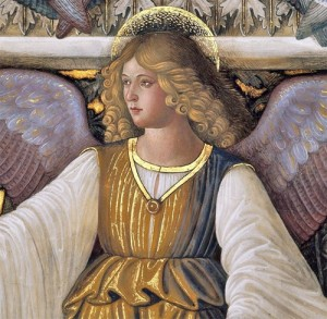 Melozzo da Flori (Italian Renaissance artist, 1438-1494) Angel from the Vault